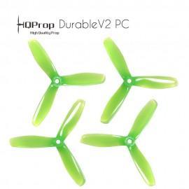 HQProp DP 5x4.5x3 Durable V2 PC - Light Green