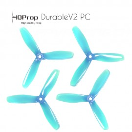 HQProp DP 5x4.5x3 Durable V2 PC - Light Blue