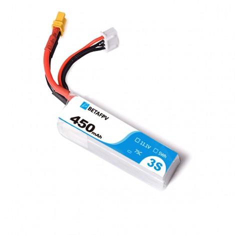 BetaFPV 450mAh 3S LiPo Batterie (XT30)