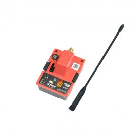 FrSky R9M Modul mit Antenne, rot