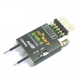 FrSky D4R-II 4ch 2.4Ghz ACCST Receiver (mit Telemetry)
