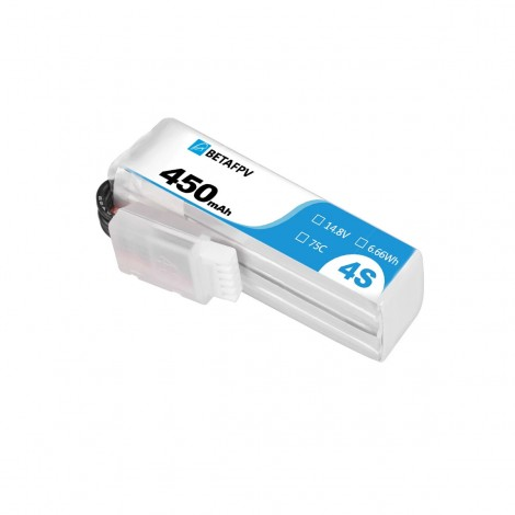 BetaFPV 450mAh 4S LiPo Batterie (XT30)