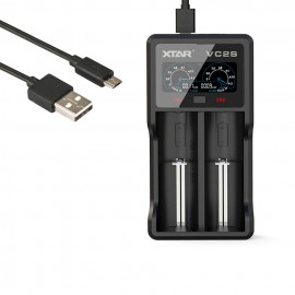 Xtar VC2S Charger for Li-Ion and NIMH  Batteries
