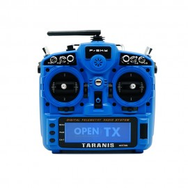 FrSky ACCESS TARANIS X9D PLUS 2019 2.4GHz Transmitter (Mode 2) - Blau