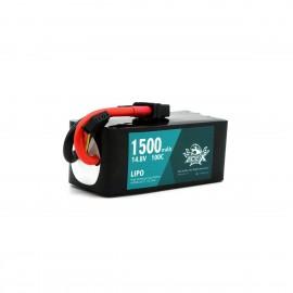 ACE-X 1500mAh 4S 100C LiPo (XT60)