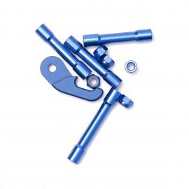 Ummagawd Remix V2 Aluminium Kit - Blau