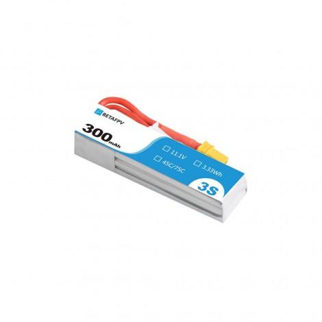 """BetaFPV 300mAh 3S LiPo Batterie """"S"""" (XT30)"""
