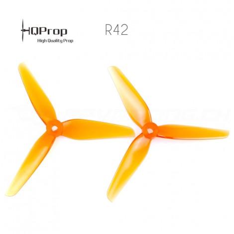HQProp R42 Racing Prop 5.1x4.2x3 PC - Orange