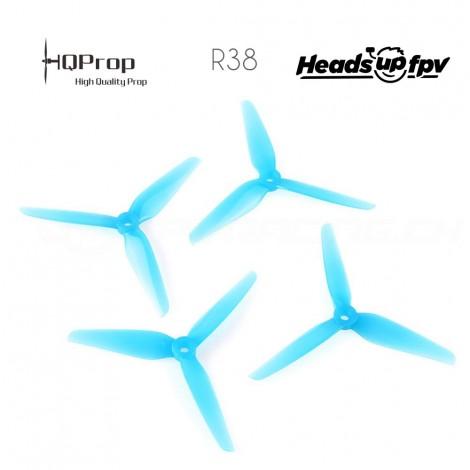 HQProp R38 Racing Prop 5.1x3.8x3 PC - Blau