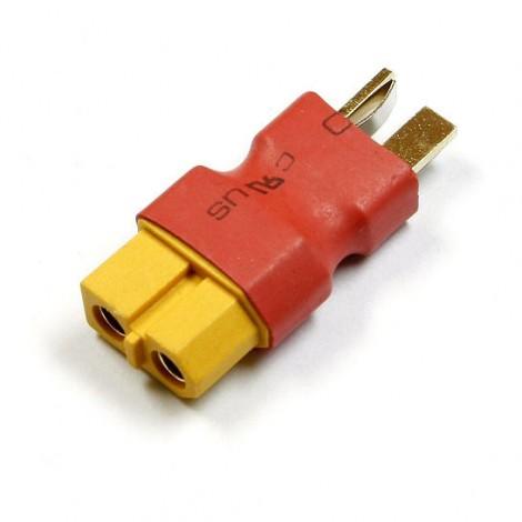 T-Plug Male zu XT60 Female Adapter