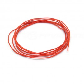 1m Silicone Wire 30AWG Red