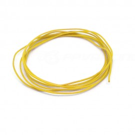 1m Silicone Wire 30AWG Yellow