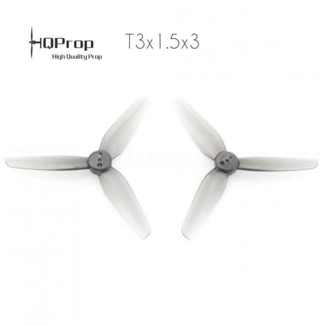 HQProp T3x1.5x3 Durable Propeller - Grau