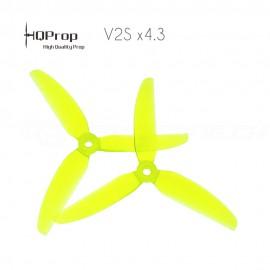 HQProp Freestyle Prop 5x4.3x3 V2S PC Propeller - Gelb