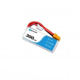 BetaFPV 300mAh 2S LiPo Batterie (XT30)
