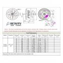 BetaFPV 1805 1550KV Brushless Motor