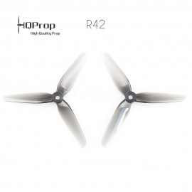 HQProp R42 Racing Prop 5.1x4.2x3 PC - Grau