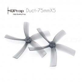 HQProp Cinewhoop Duct-T75MMX5 Propeller - Grau