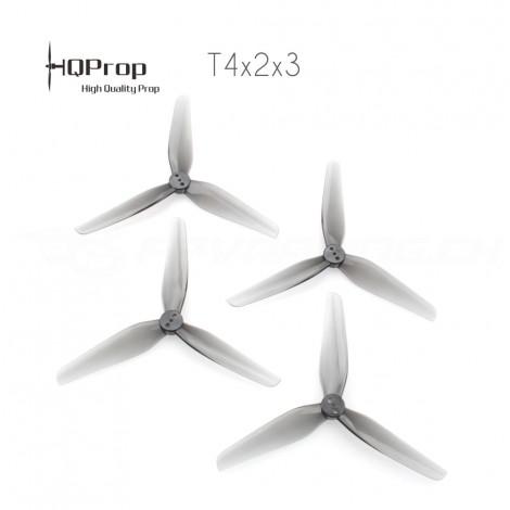 HQProp T4x2x3 Durable Propeller - Grau