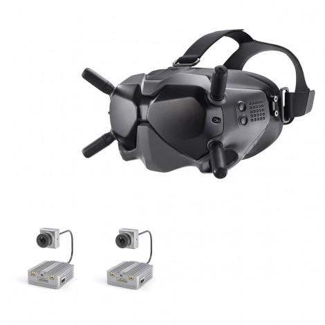DJI FPV Bundle 2 (FPV Videobrille V2 + 2 x Caddx Air Unit Micro)