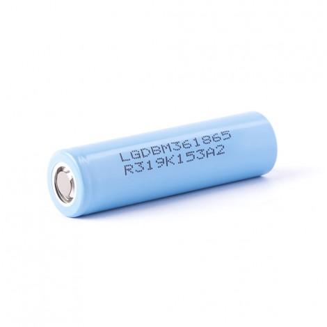 LG INR18650-M36 3,6V - 3,7V 3600mAh (Pluspol flach)