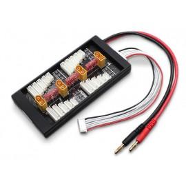 Safe 40A Parallel Charging Board für 4 Batterien 2-6S (XT-60)