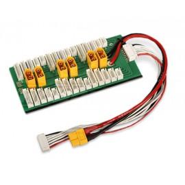 Parallel Charging Board für 6 Batterien 2-6S (XT-60)