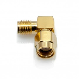 90 Degree Male to Female RP- SMA Connector