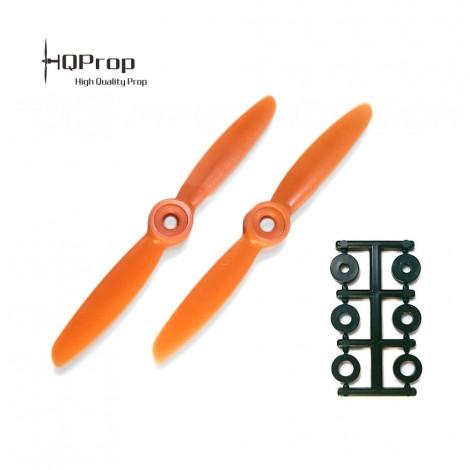 HQProp 4x4.5 CW Propeller - Orange