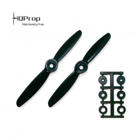 HQProp 4x4.5 CW Propeller - Schwarz
