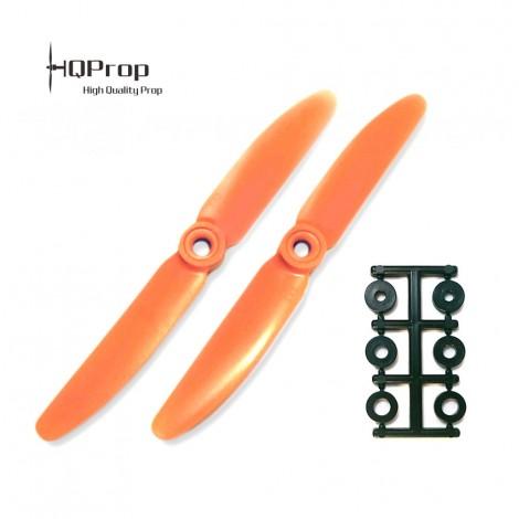HQProp 5x3 CCW Propeller - Orange