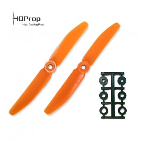HQProp 5x4 CCW Propeller - Orange