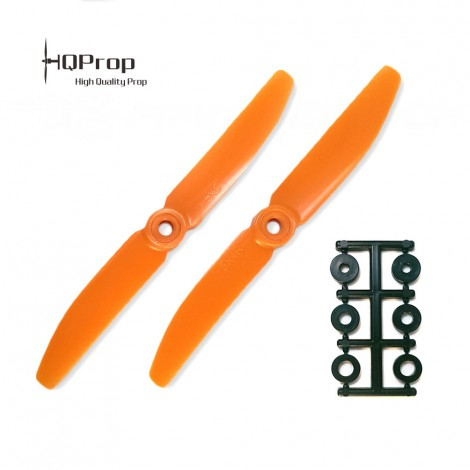 HQProp 5x4 CW Propeller - Orange
