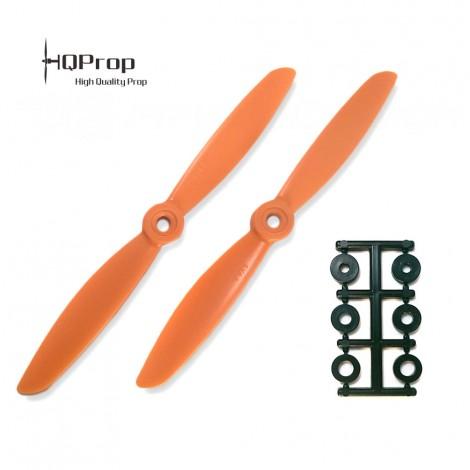 HQProp 6x4.5 CCW Propeller - Orange