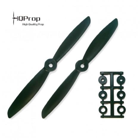 HQProp 6x4.5 CW Propeller - Schwarz