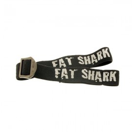 Fat Shark head strap (Black)