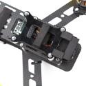 QAV250 G10 vibrationsdämpfende Kameraplatte