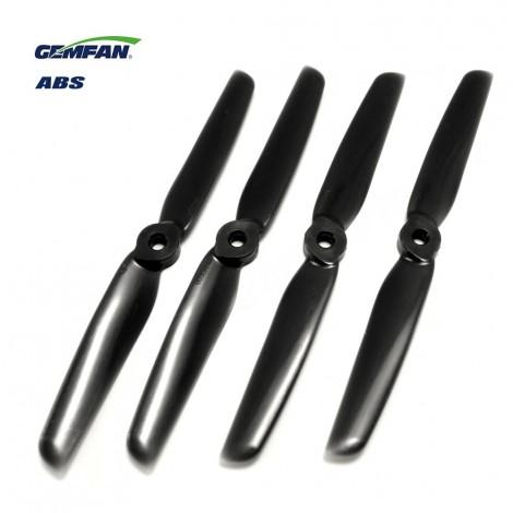 Gemfan 6030 ABS (2 CW + 2 CCW) Schwarz