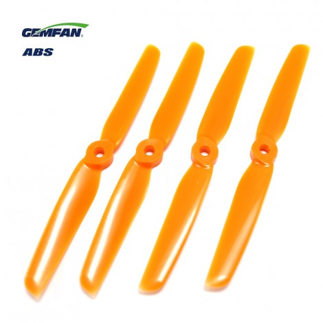 Gemfan 6030 ABS (2 CW + 2 CCW) Orange