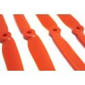 Gemfan 6030 Glasfaser/Nylon (2 CW + 2 CCW) Orange