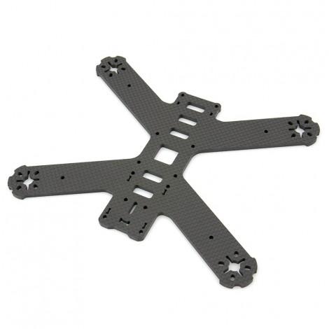 """QAV210 Carbonfaser """"Unibody"""" Frameplatte (4mm)"""
