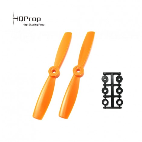 HQProp 5x4.5 Bullnose CW Propeller - Orange