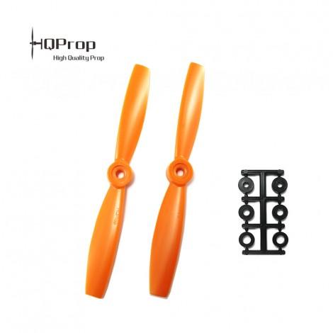 HQProp 5.5x4.5 Bullnose CCW Propeller - Orange