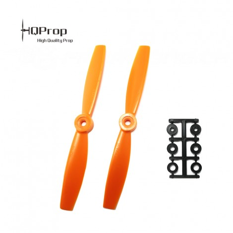 HQProp 5.5x4.5 Bullnose CW Propeller - Orange