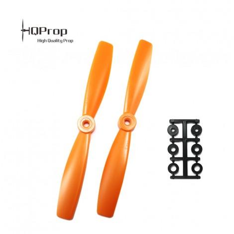 HQProp 6x4.5 Bullnose CCW Propeller - Orange