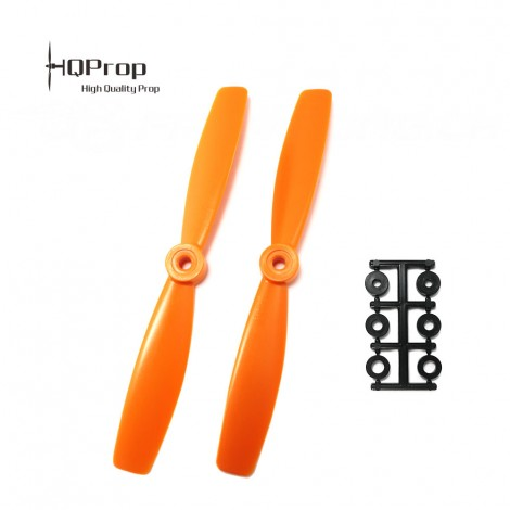 HQProp 6x4.5 Bullnose CW Propeller - Orange