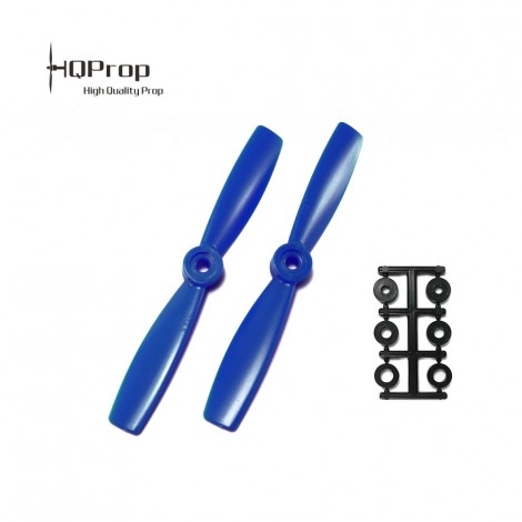 HQProp 5x4.5 Bullnose CCW Propeller - Blau