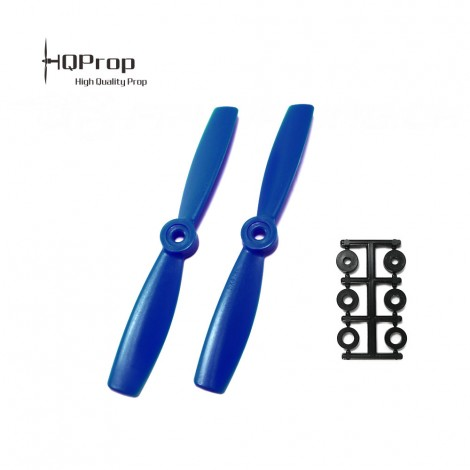 HQProp 5x4.5 Bullnose CW Propeller - Blue