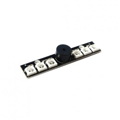 Matek - RGB LED BOARD WS2812B mit Buzzer