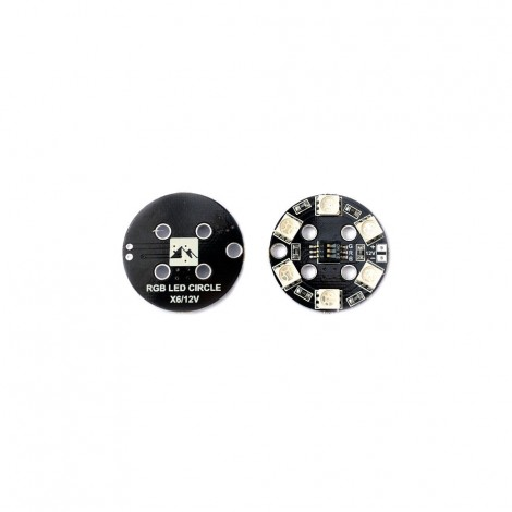 Matek - RGB LED CIRCLE X6 -12V
